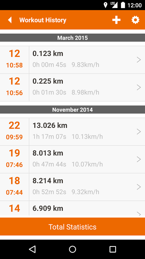 u4fit - GPS Track Run Walk - screenshot