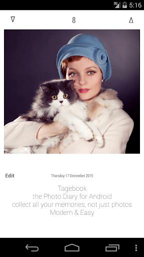 Tagebook Fototagebuch Tagebuch