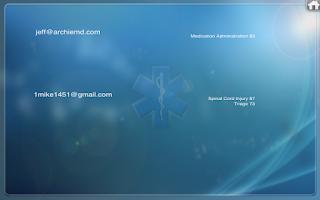 Screenshot of Medrills: Group or Single User