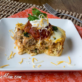 Crock Pot Mexican Breakfast Casserole {Low Carb & Gluten Free}
