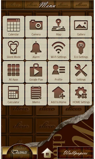 CHOCOLATE BAR Wallpaper Theme 1.5 Windows u7528 2
