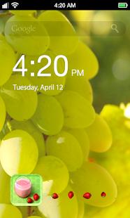 玩程式庫與試用程式App|Fruit Beauty Lock Screen免費|APP試玩