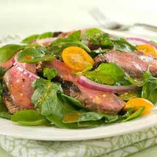 Steak & Arugula Salad.