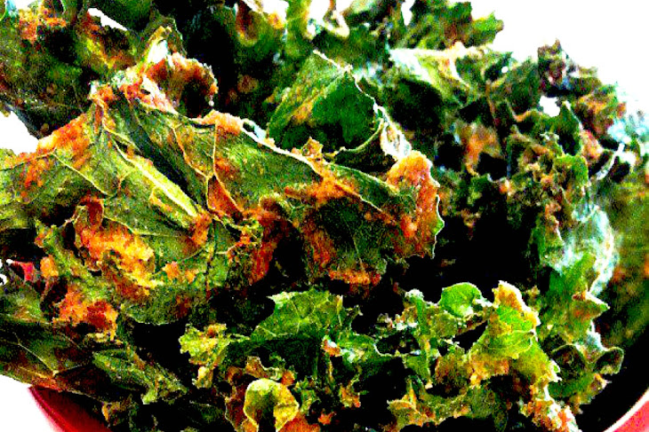 Spicy Kale Chips [Vegan, Raw, Gluten-Free] Recipe