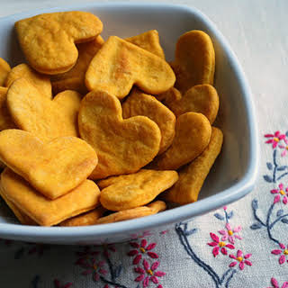 Sweet Potato Crackers Recipe – Easy, Healthy Recipe For Kids.