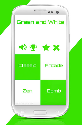 Tap Green Piano Tiles