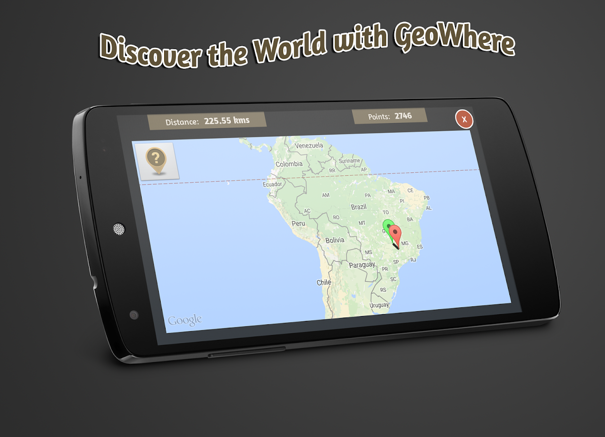GeoWhere Geography Learning- screenshot