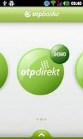 Screenshot of OTP m-banking HR