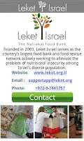 Screenshot of Leket Israel