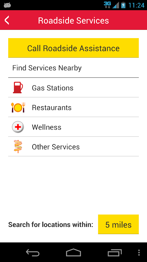 21st Policy Self-Service App - screenshot
