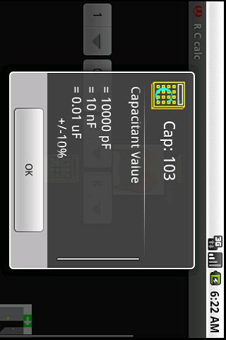 【免費工具App】RC calc: Cap all codes R Rings-APP點子
