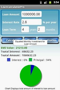 Loan Calculator Pro- screenshot thumbnail