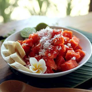 Bali Bliss Papaya Salad.