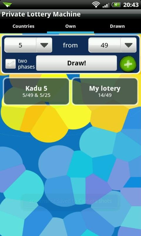 Private Lottery Machine- screenshot