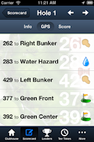 Screenshot of Minor Park Golf Course