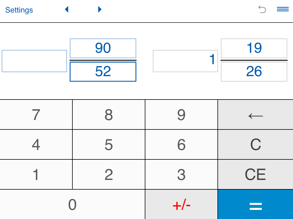 Worksheet Simplifying Mixed Numbers Calculator simplify fractions calculator android apps on google play screenshot