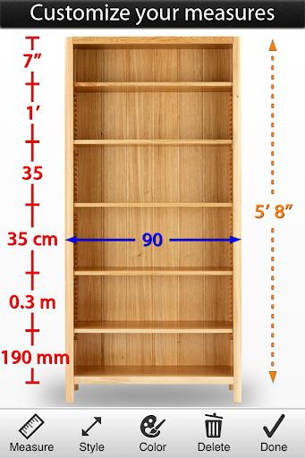 Photo Measures Lite screenshot 3