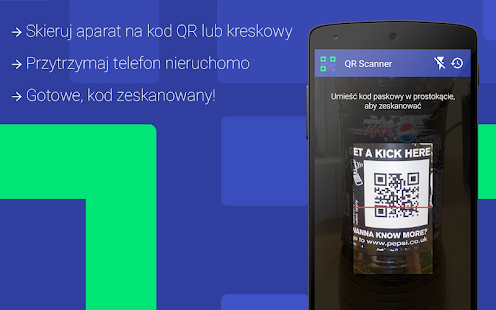 QR-code scanner - screenshot thumbnail