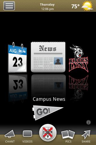 Rhodes College- screenshot