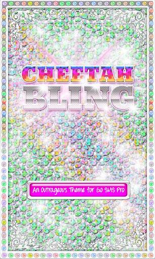 ♦BLING Theme♦ Rainbow Cheetah