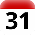 ZA holidays calendar widget icon