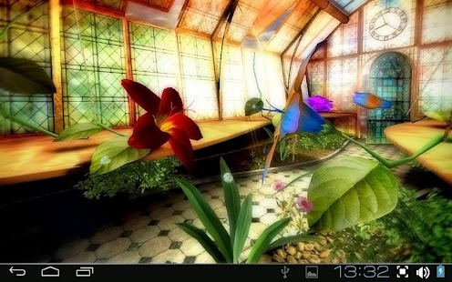 Magic Greenhouse 3D Pro lwp Screenshot