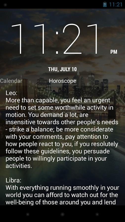 WakeVoice Trial alarm clock - screenshot