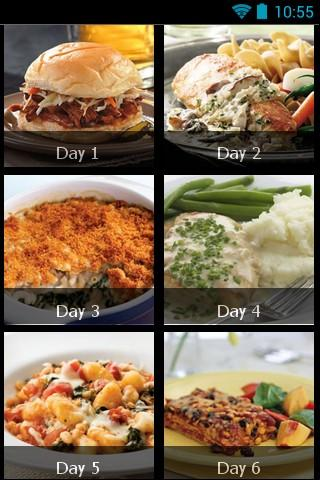 7 Day Diet Plan - screenshot