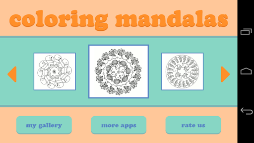 Coloring Mandalas for Kids