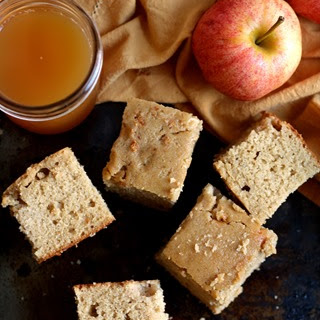 {whole Grain Apple Cider Snack Cake}