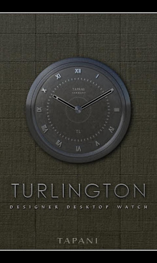 TURLINGTON目覚まし時計ウィジェット