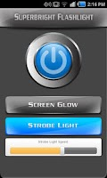 Screenshot of Super-Bright Flashlight FREE