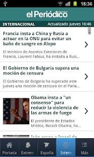 El Periódico Extremadura- screenshot thumbnail