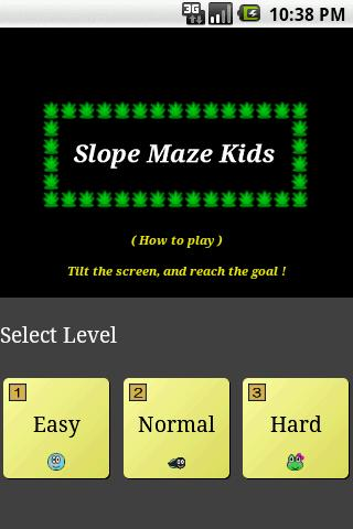 Slope Maze Kids - screenshot