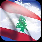 3D Lebanon Flag