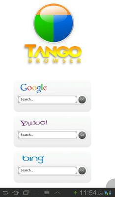 Tango Browser - screenshot