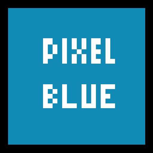 TSF Shell Theme Pixel Blue LOGO-APP點子