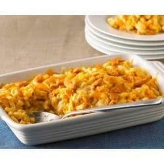 Home-Baked Macaroni & Cheese.
