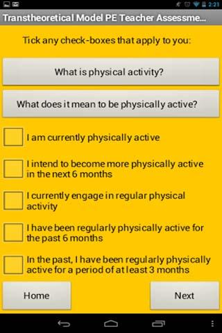PE Teacher Assessment Tool
