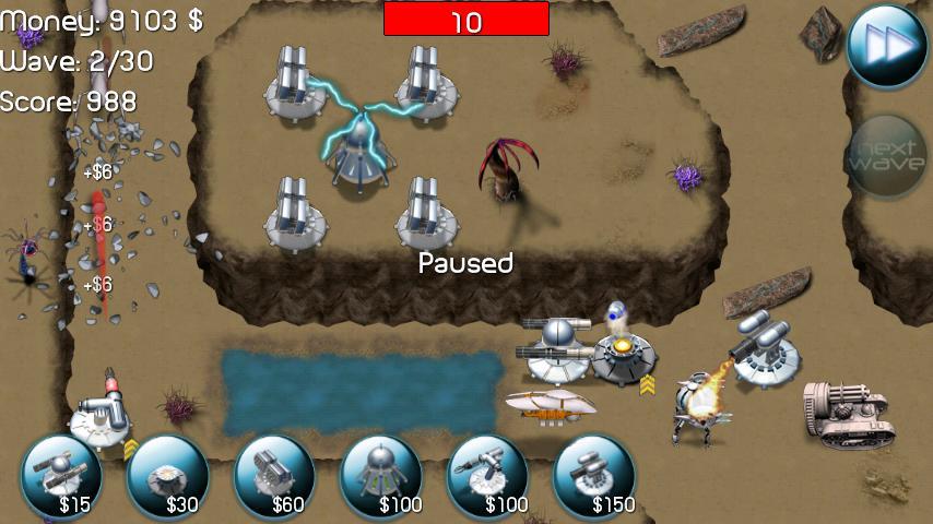 Nexus Defense (Tower game) - screenshot