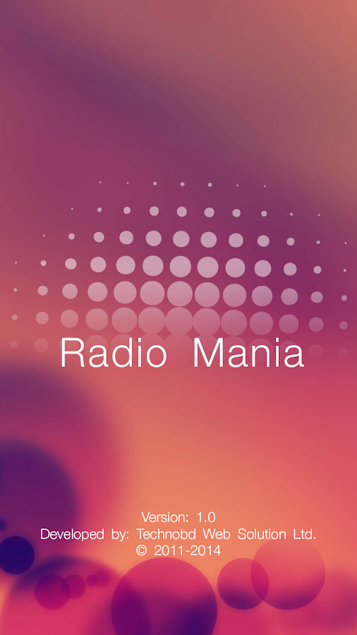 RadioMania- screenshot