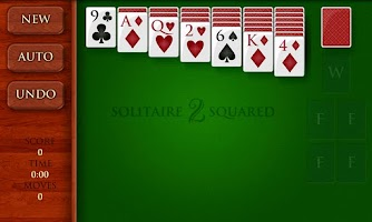 Screenshot of Solitaire Squared Free