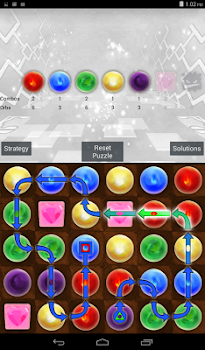 Solver for Puzzle and Dragons