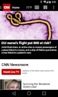 Screenshot of CNN Breaking US & World News