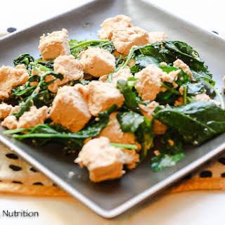 Ginger Chicken and Kale.