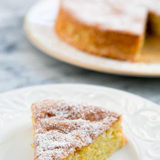 Flourless Lemon Almond Cake.