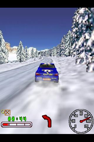 3D Snow Rally Canada- screenshot