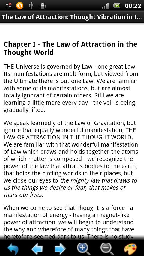 The Law of Attraction BOOK - screenshot