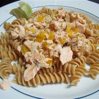 Easy Smoked Salmon Pasta