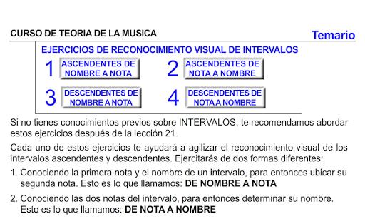 CURSO DE TEORIA DE LA MUSICA 1.0.19 screenshots 10
